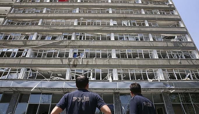 Ankara Emniyet Müdürlüğünde yaralar sarılıyor