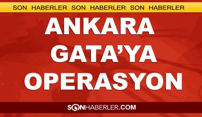 Ankara GATA'ya FETÖ operasyonu