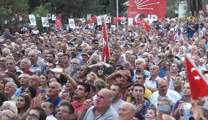 Artvin'deki saldırı Tunceli'de protesto edildi