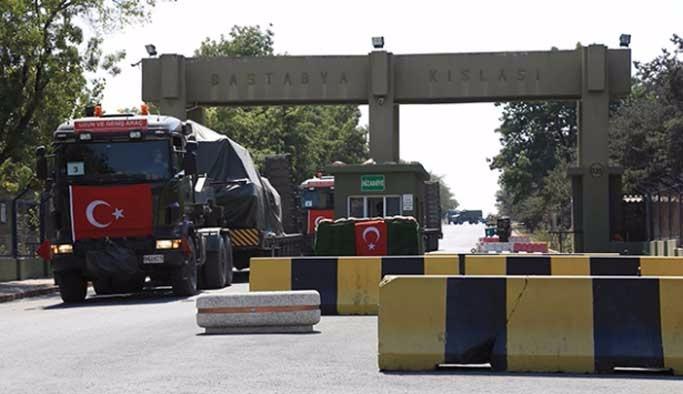 Askeri birliklerin şehir dışına taşınması başlandı