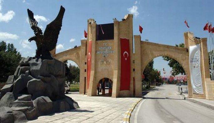 Atatürk Üniversitesi'nde 17 açığa alma
