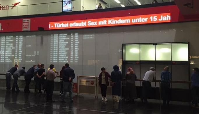 Avusturya'da Türkiye'ye ahlaksız saldırı