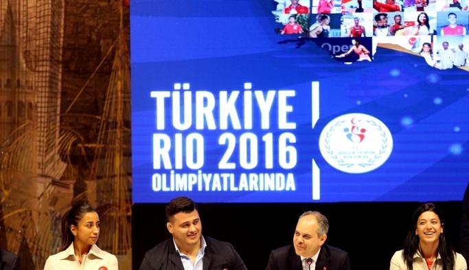 Bakan Kılıç, olimpiyat ekibini ağırladı