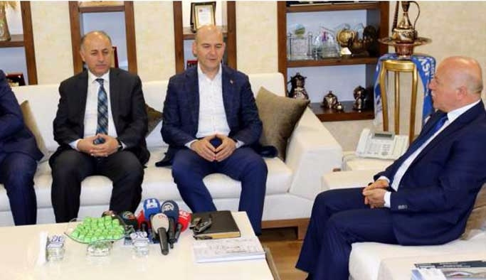 Bakanı Soylu, Erzurum'da konuştu