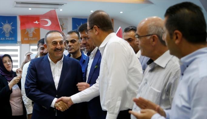 Bakanlar Çavuşoğlu ve Zeybekci, Denizli'de