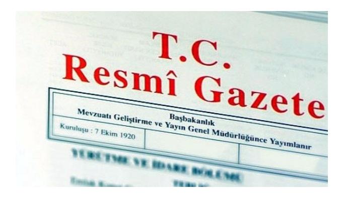 Bakanlıklara atamalar Resmi Gazete'de
