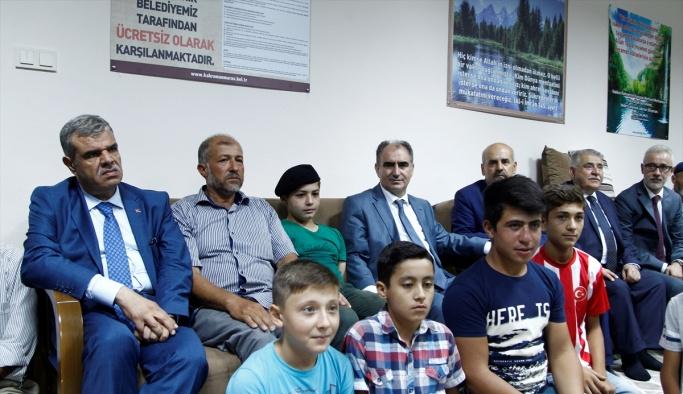 Başbakan Yardımcısı Kaynak, şehit ailelerin ziyaret etti