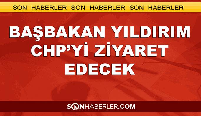 Başbakan Yıdırım'dan CHP'ye ziyaret