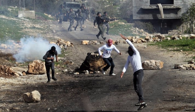 Batı Şeria'da çatışma, 5 yaralı