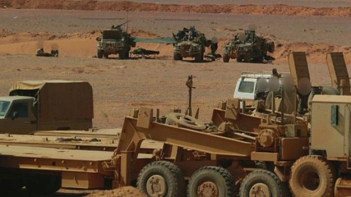 Suriye'deki İngiliz askerleri görüntülendi