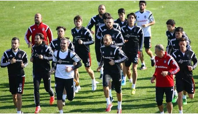 Beşiktaş'ta Turkcell Süper Kupa'ya hazırlanıyor