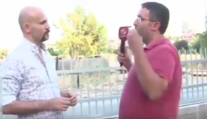 Beyaz TV muhabiri Atalay Demirci'nin yüzüne tükürdü VIDEO