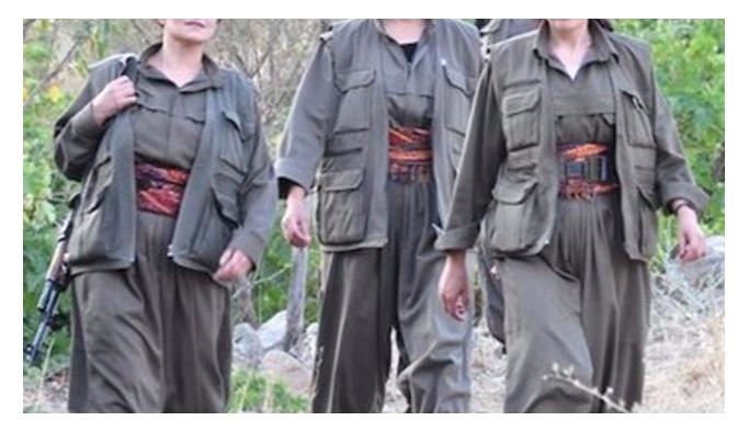 Bingöl'de bir kadın terörist teslim oldu