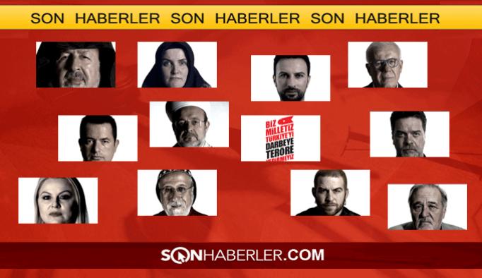 'Biz milletiz Türkiye'yi yedirmeyiz' dediler VIDEO