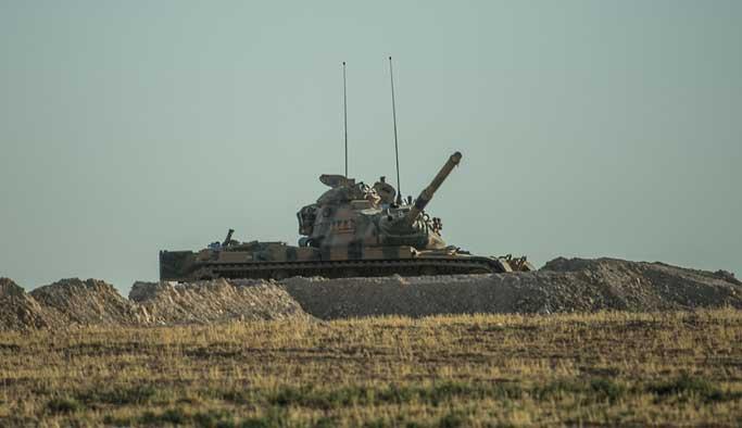 Cerablus'ta bir Türk tankı vuruldu