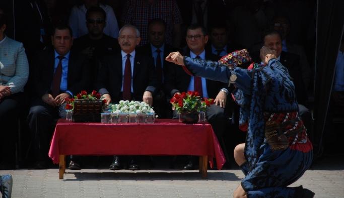 CHP Genel Başkanı Kılıçdaroğlu, Dumlupınar'da: