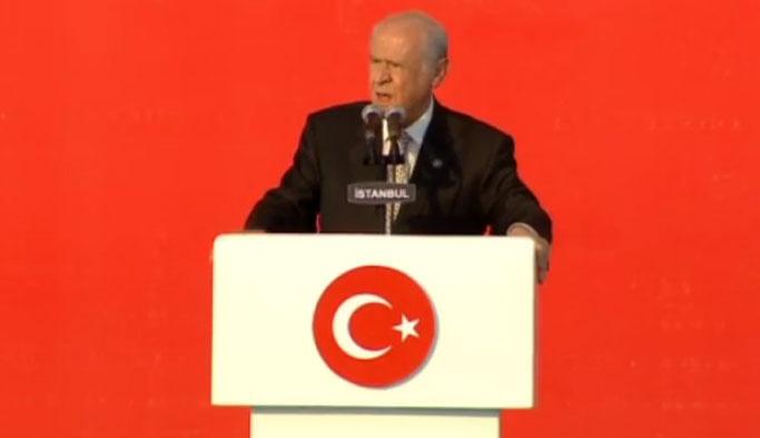 Devlet Bahçeli Yenikapı'da konuştu