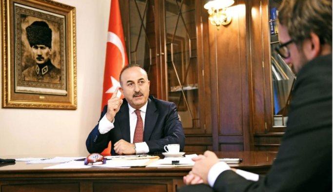 Dışişleri Bakanı Çavuşoğlu Alman gazetesine konuştu