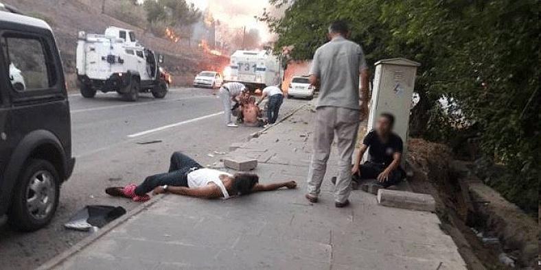 Diyarbakır'da ölen sivillerden ikisi çocuk