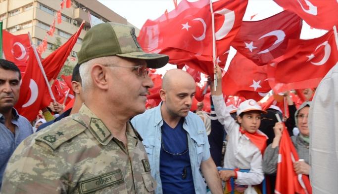 Elazığ, Batman, Mardin ve Şırnak'ta Demokrasi ve Şehitler Mitingi