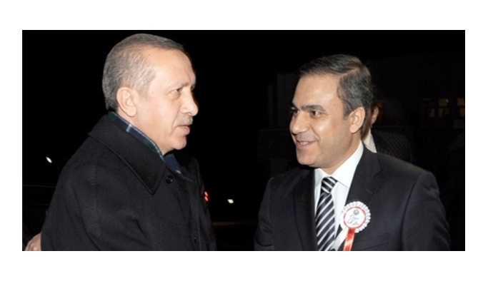 Erdoğan tarihi ziyarete  Fidan'la gitti