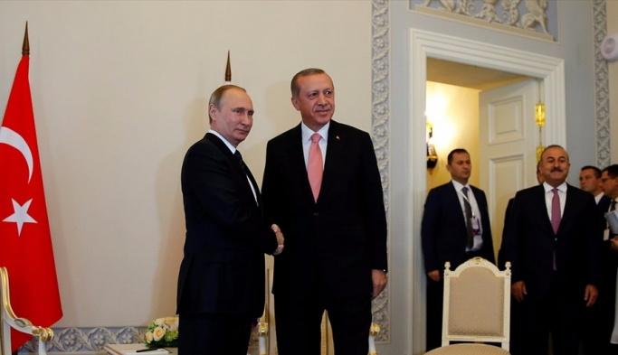 Erdoğan ve Putin Suriye oturumuna başladı