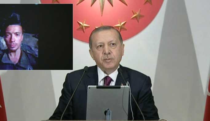 Erdoğan, Ankara'dan Cerablus'a bağlandı