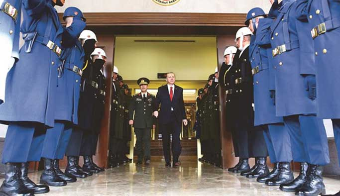 Erdoğan, askere direkt emir verebilecek