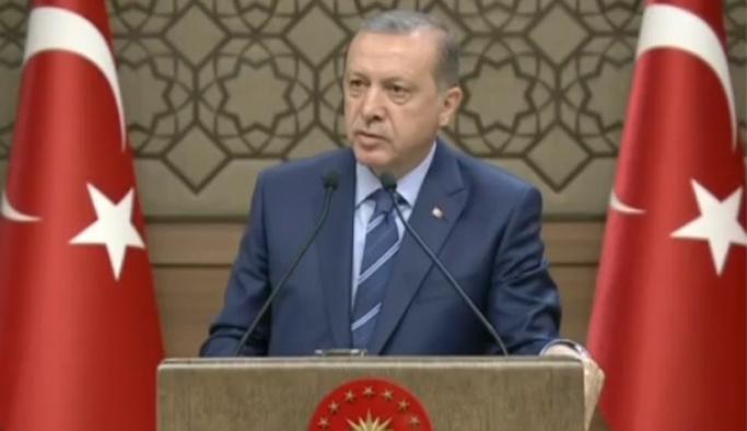 Erdoğan: Bu millet imanlı çılgın Türkler