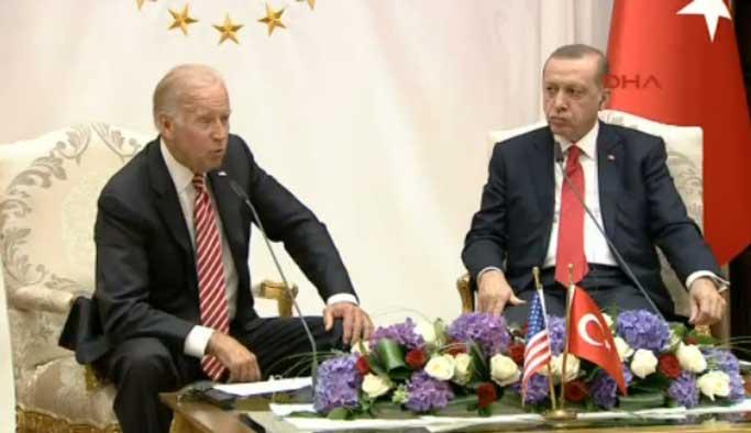 Erdoğan'dan Biden'e: Gülen gözaltına alınmalı