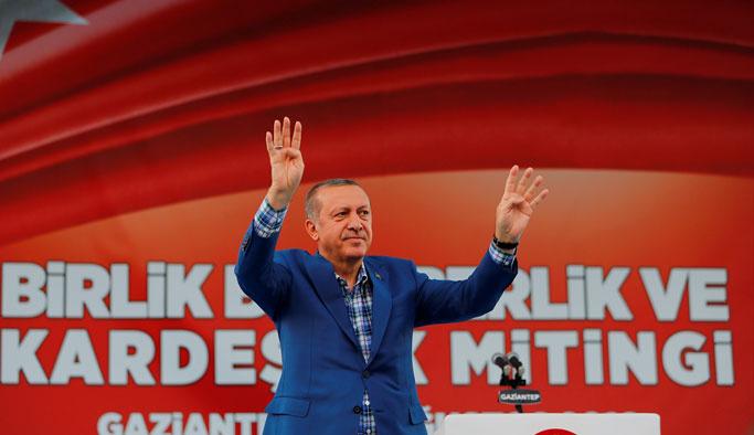Erdoğan, 'Birlik ve Kardeşlik Mitingi'nde konuştu