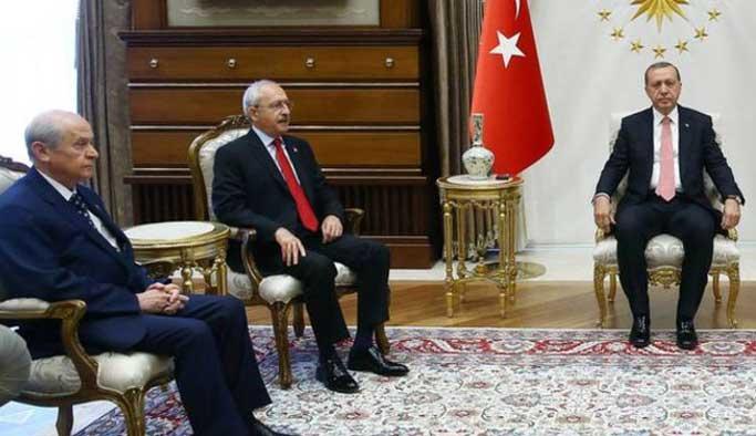 Erdoğan, Kılıçdaroğlu ve Bahçeli'yi de Yenikapı'ya davet etti