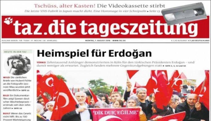 Erdoğan'nın Köln'deki mitinge bağlanmasının engellenmesi