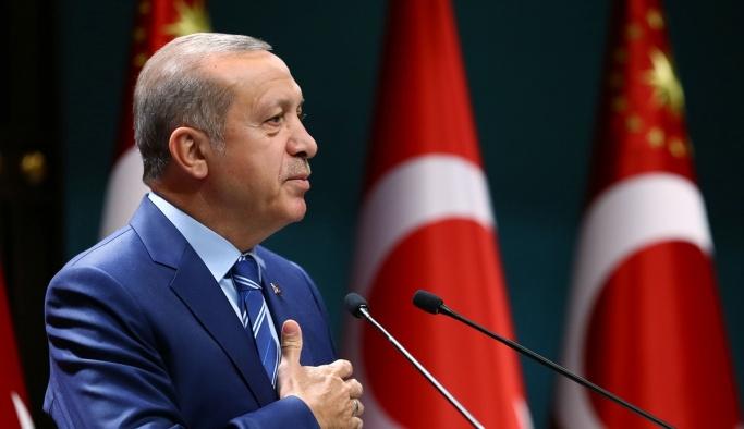 Erdoğan'ın İDSB heyetini kabulü