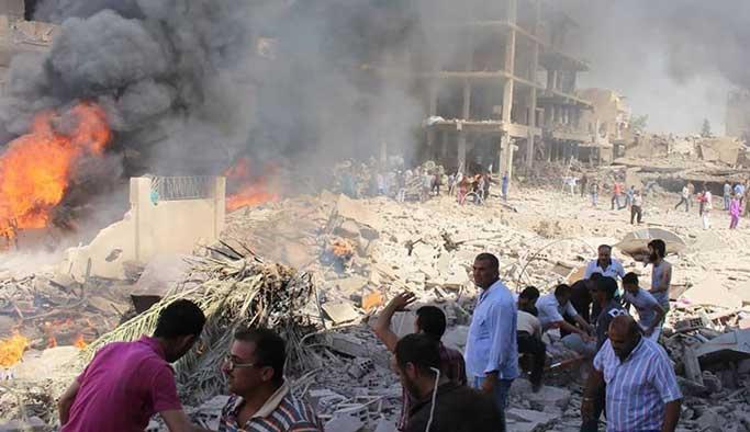 Esad'ın Haseke saldırısında siviller öldü