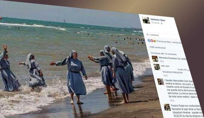Söz konusu rahibeler olunca işler değişiyor