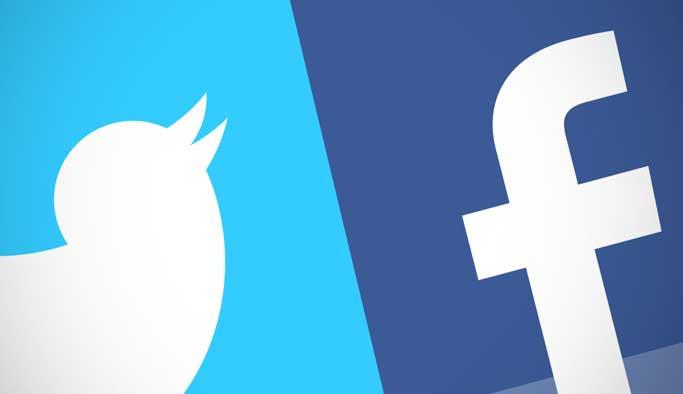 Facebook ve Twitter çöktü