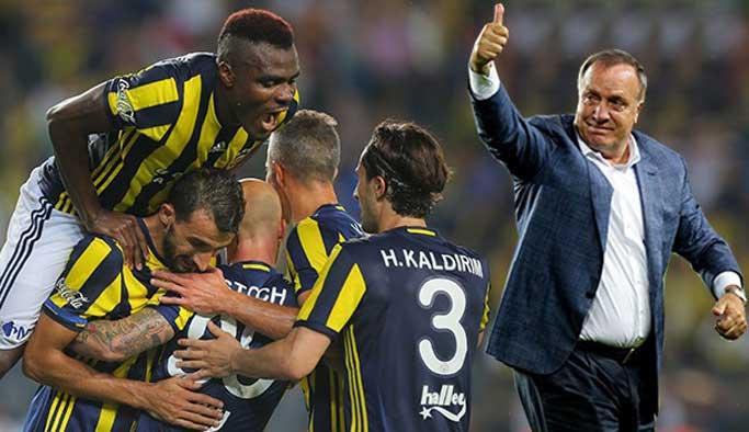 Fenerbahçe yeni teknik direktörüyle güldü