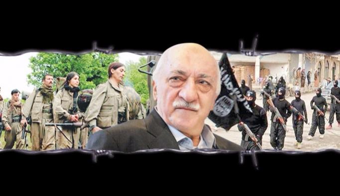 FETÖ, PKK ve DAEŞ şeytan üçgeni