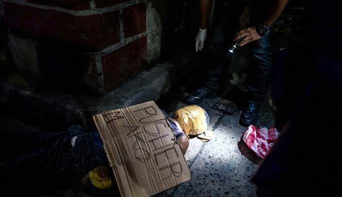 Filipinler uyuşturcu satıcıları tek tek öldürülüyor