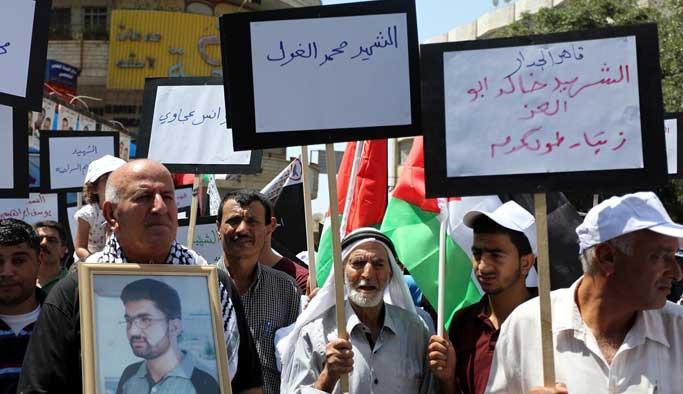 Filistinliler 'rehin cenazeleri'ni istiyor
