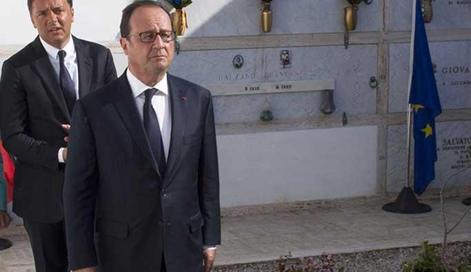 Fransa da Cerablus'ta ağız değiştirdi