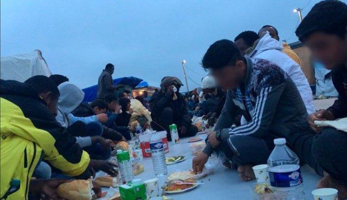 Fransa'da jungle sığınmacı kampın kapanmayacak