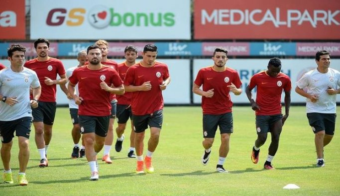 Galatasaray'da lig hazırlıkları başladı