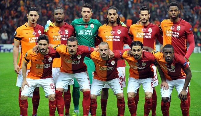 Galatasaray kafilesi Konya'ya gitti