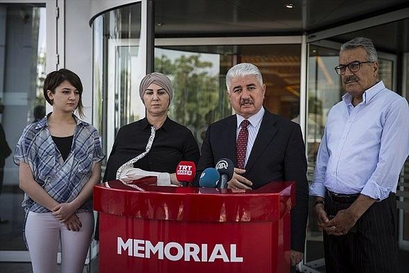 """""""Gazi milletvekili"""" ile ailesi taburcu edildi"""