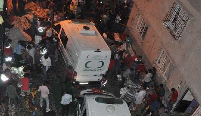 Gaziantep'te ölü sayısı 51'e yükseldi