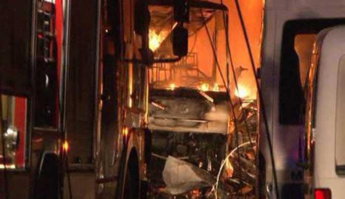 Gaziantep'teki patlamadan ilk görüntüler FOTO