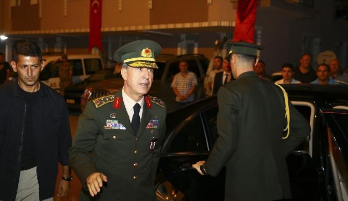 Genelkurmay Başkanı Akar'dan şehit ailesine ziyaret