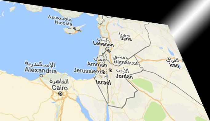 Google Filistin'i tamamen İsrail'e kattı